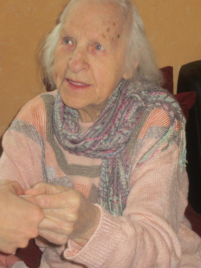 Kazytei Jurkutei-Niūniavienei – vyriausiai Semeliškių parapijos gyventojai – 95-eri!