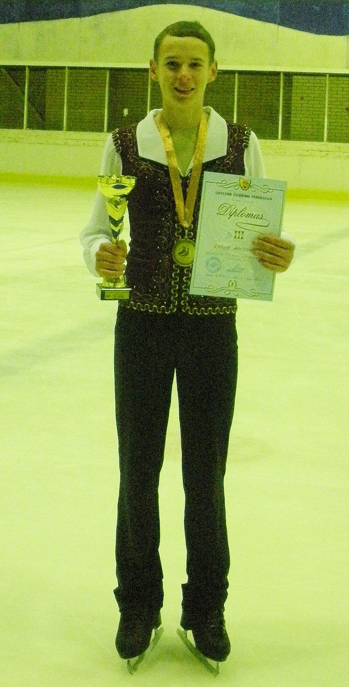 Lietuvos dailiojo čiuožimo čempionatas Kaunas Winter Cup 2013
