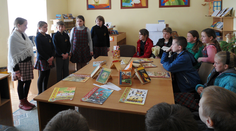 Nacionalinė Lietuvos bibliotekų savaitė Vievio bibliotekoje