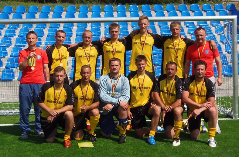 PLSŽ futbolo čempionai – Elektrėnų ekipa