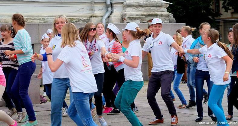 Lietuvos jaunimo dienose ieškojo draugystės su savimi ir Dievu