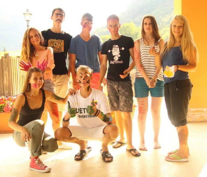 Vievio jaunimas grįžo iš tarptautinių mainų Italijoje