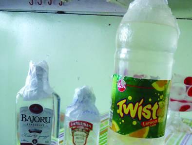 Policija rado nelegalaus tabako ir alkoholio