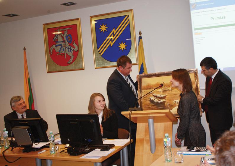 Savivaldybės tarybos posėdyje: senos skolos, nauja įstaiga ir nuolatinės problemos