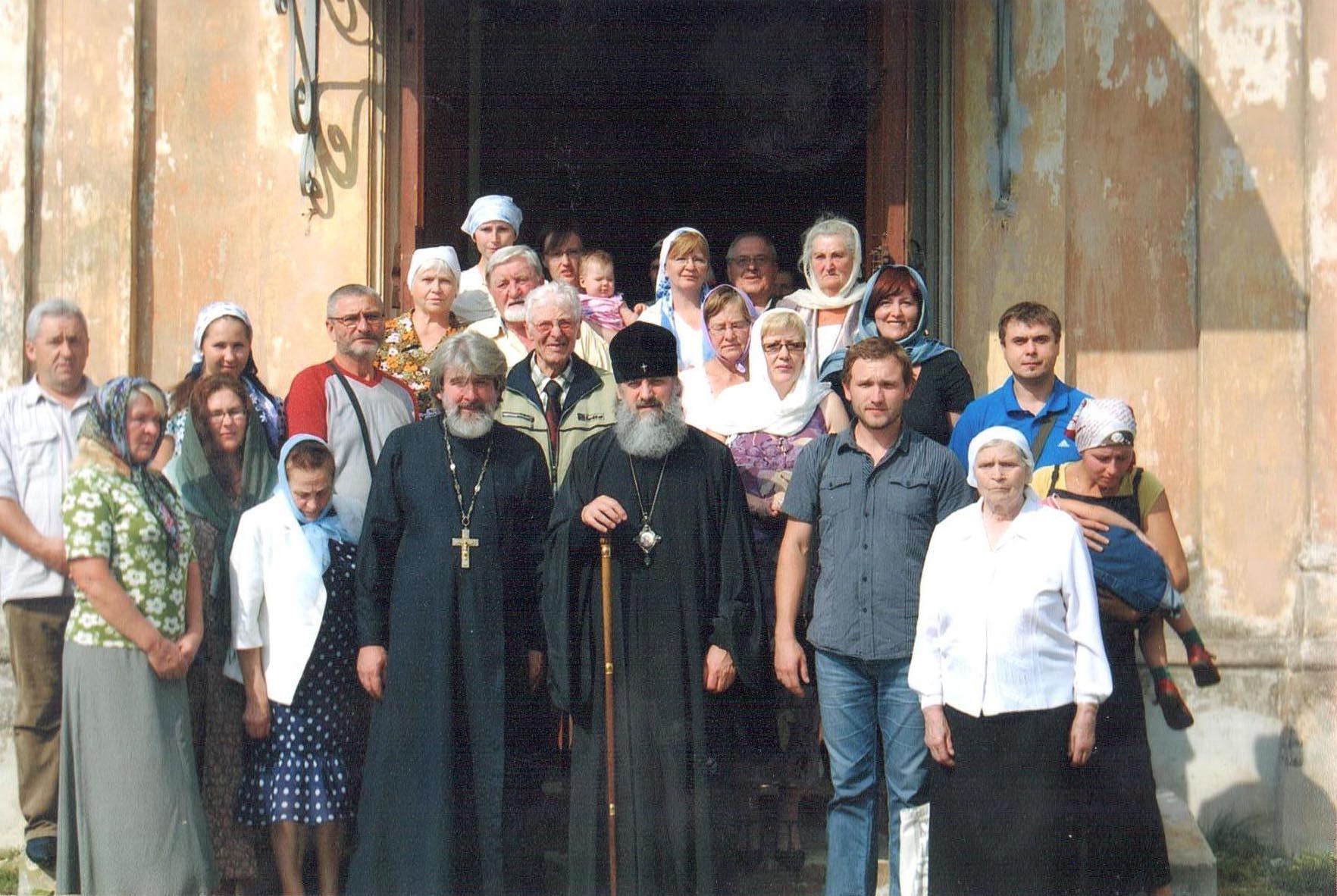 Šv. Nikolajaus Stebukladario cerkvės dvasininkai