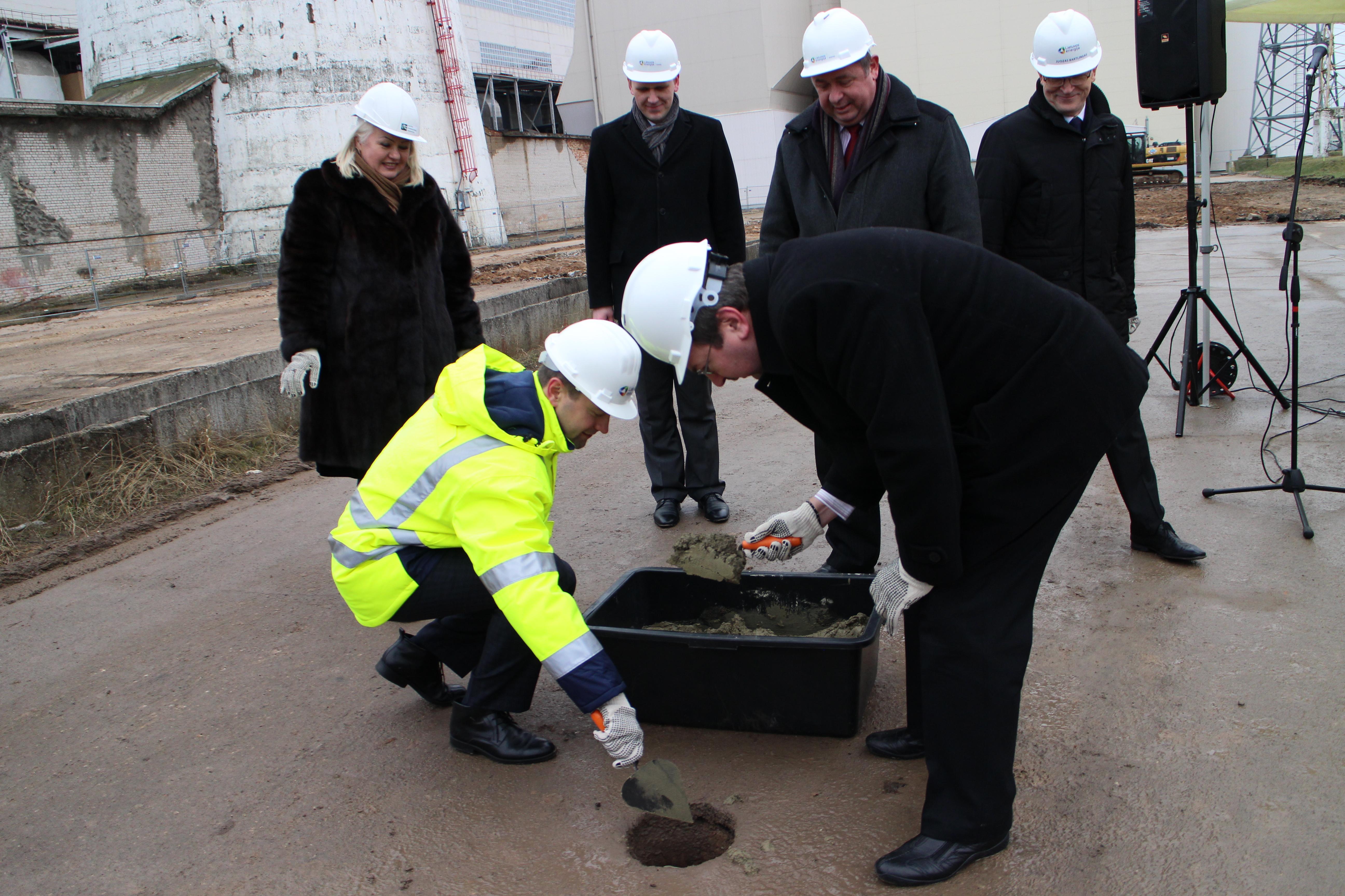 Pradėta biokuro katilinės statyba