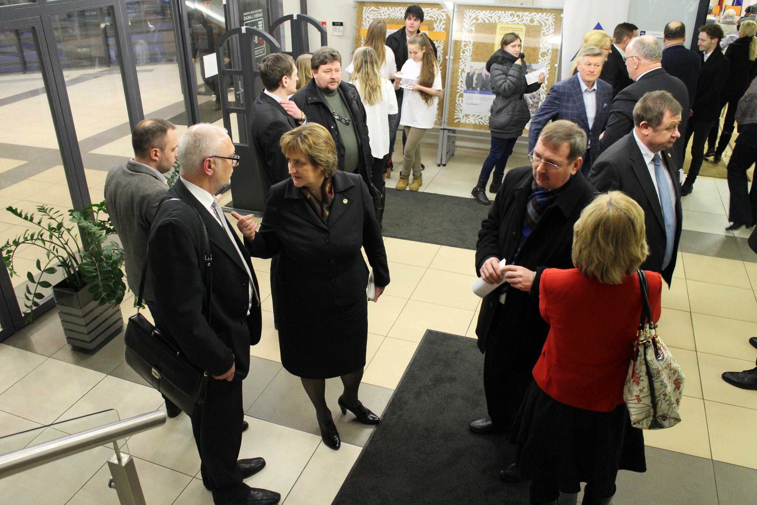Elektrėnuose lankėsi du Seimo pirmininkai
