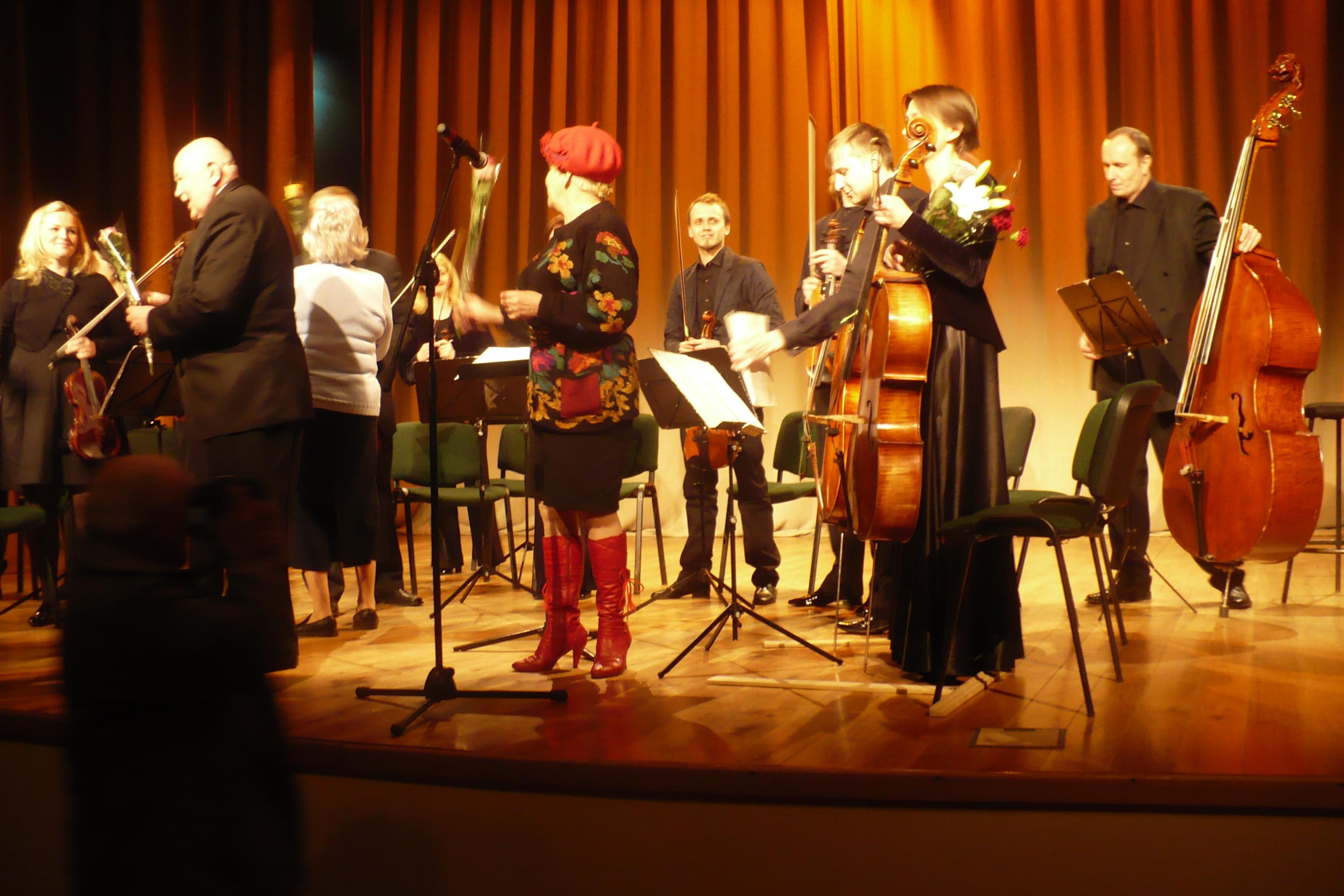Šv. Kristoforo kamerinio orkestro koncertas –  sūris pelėkautuose