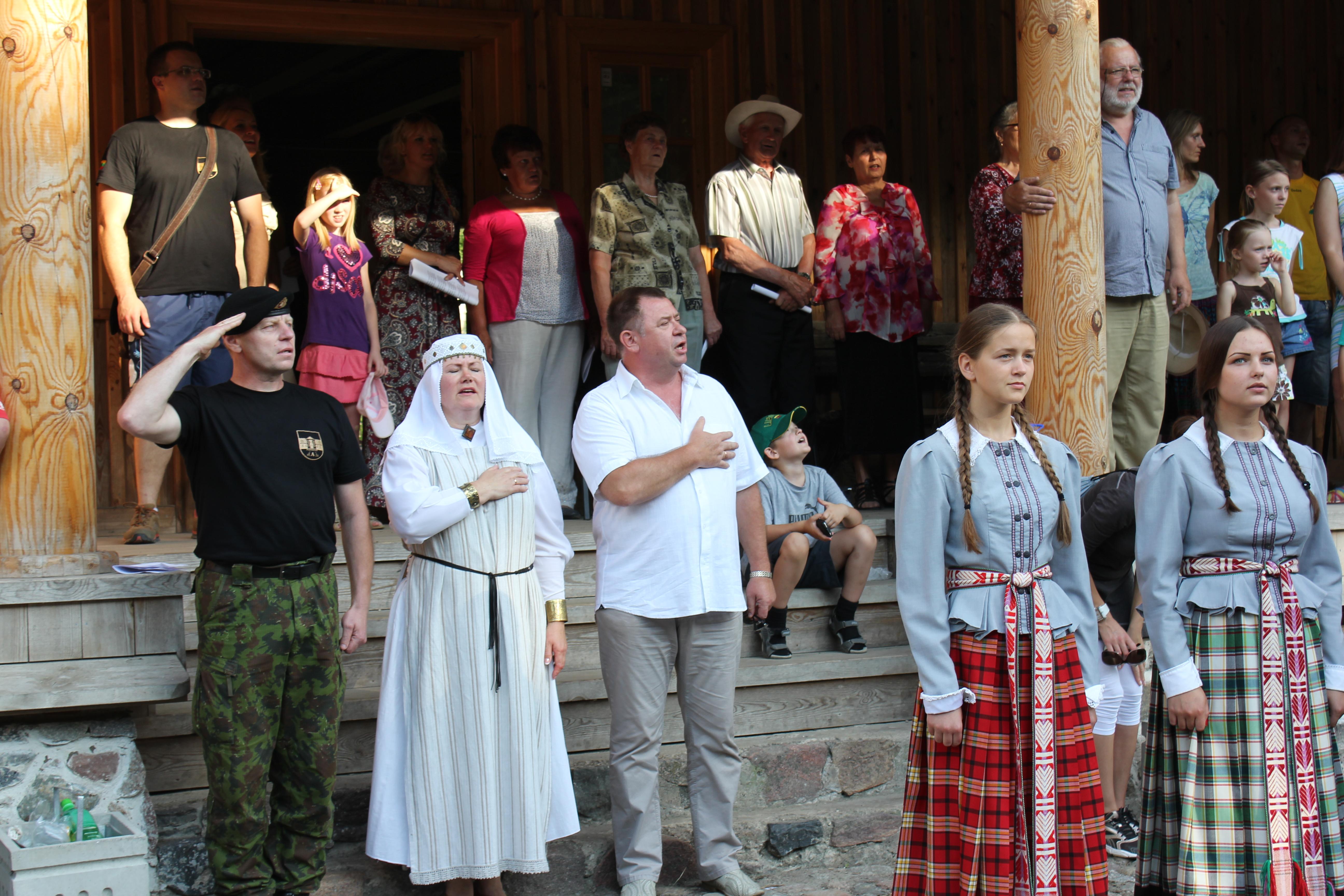 Savivaldybę drebino tautiškumo festivalis