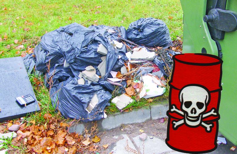 Pareiga – pristatyti atliekas, kur jų vieta
