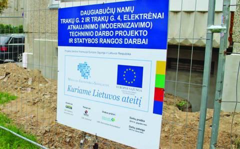 Europinių lėšų įsisavinimo nauda šalyje ir Elektrėnuose