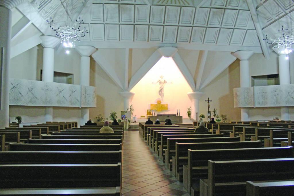 Modernioje bažnyčioje – modernūs interjero sprendimai