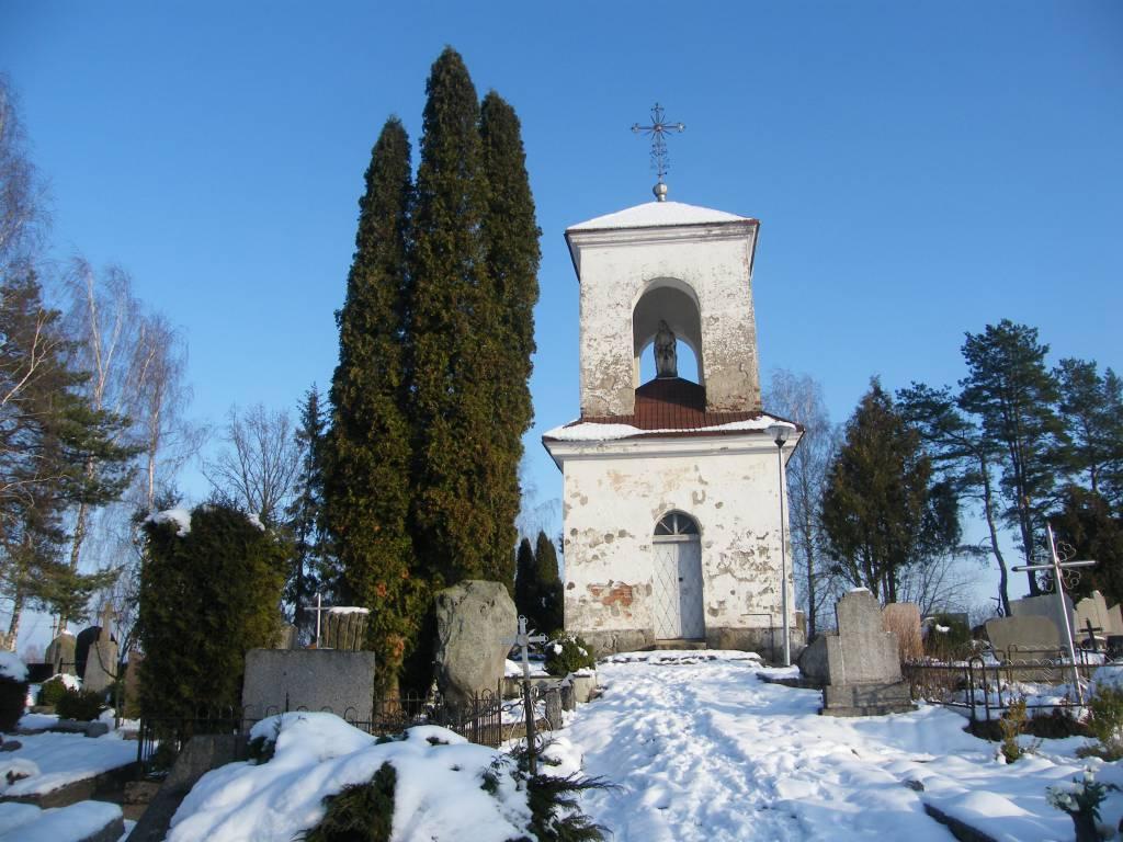 De Raesų ir Broel-Pliaterių šeimų koplyčia-mauzoliejus Sabališkių kapinėse