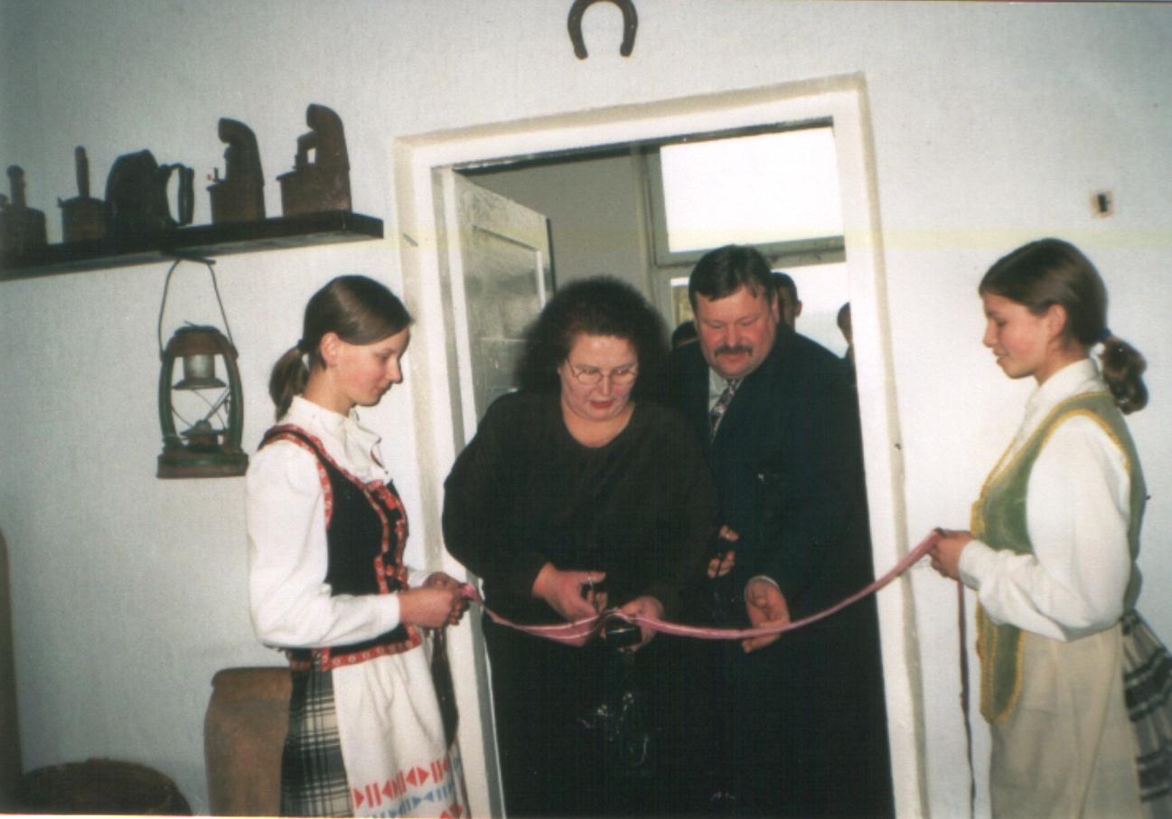 Muziejus tapo mokyklos reprezentacijos centru
