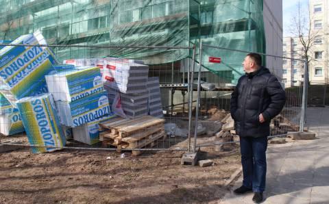 Statybininkus kokybiškai dirbti verčia sąžinė ir inspektoriai