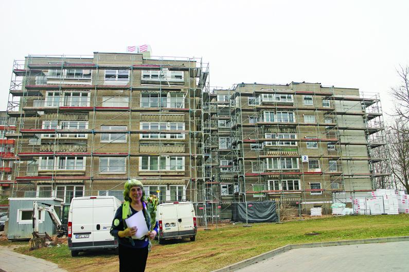 Būsto renovacijai imta paskola Elektrėnų gyventojams – ne našta