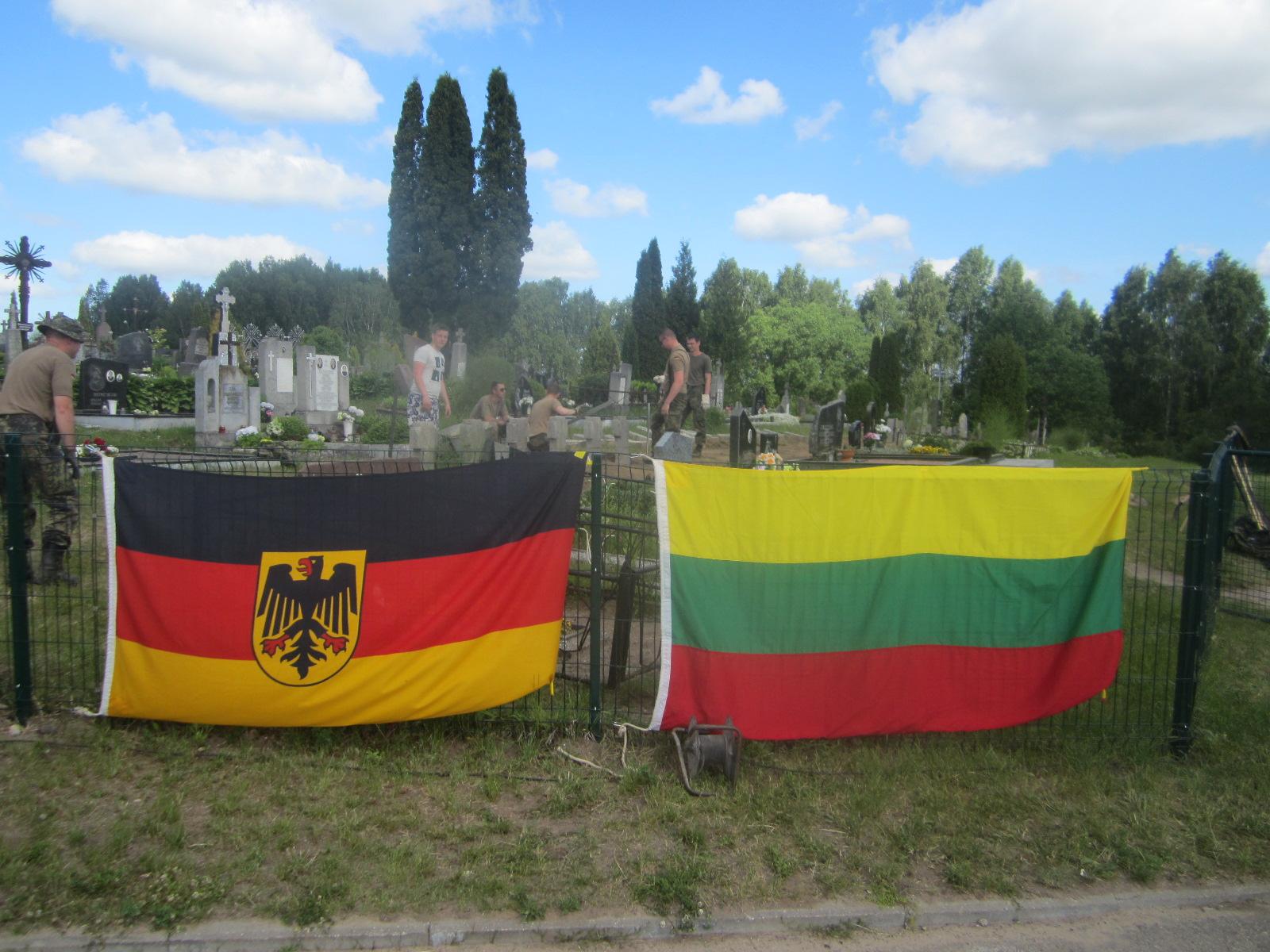 Semeliškėse restauruota Pirmojo pasaulinio karo karių kapavietė