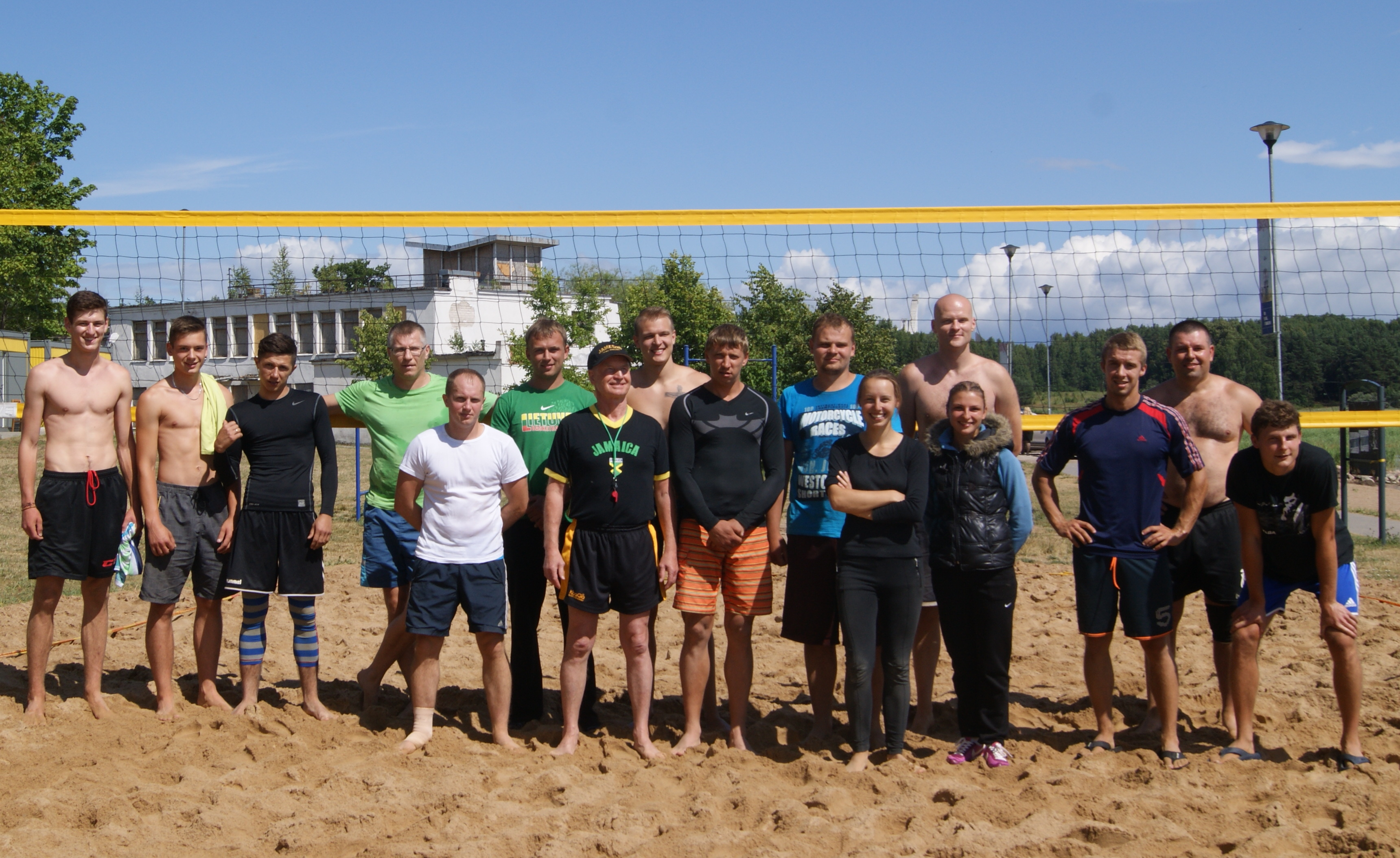 Paplūdimio tinklinio varžybos