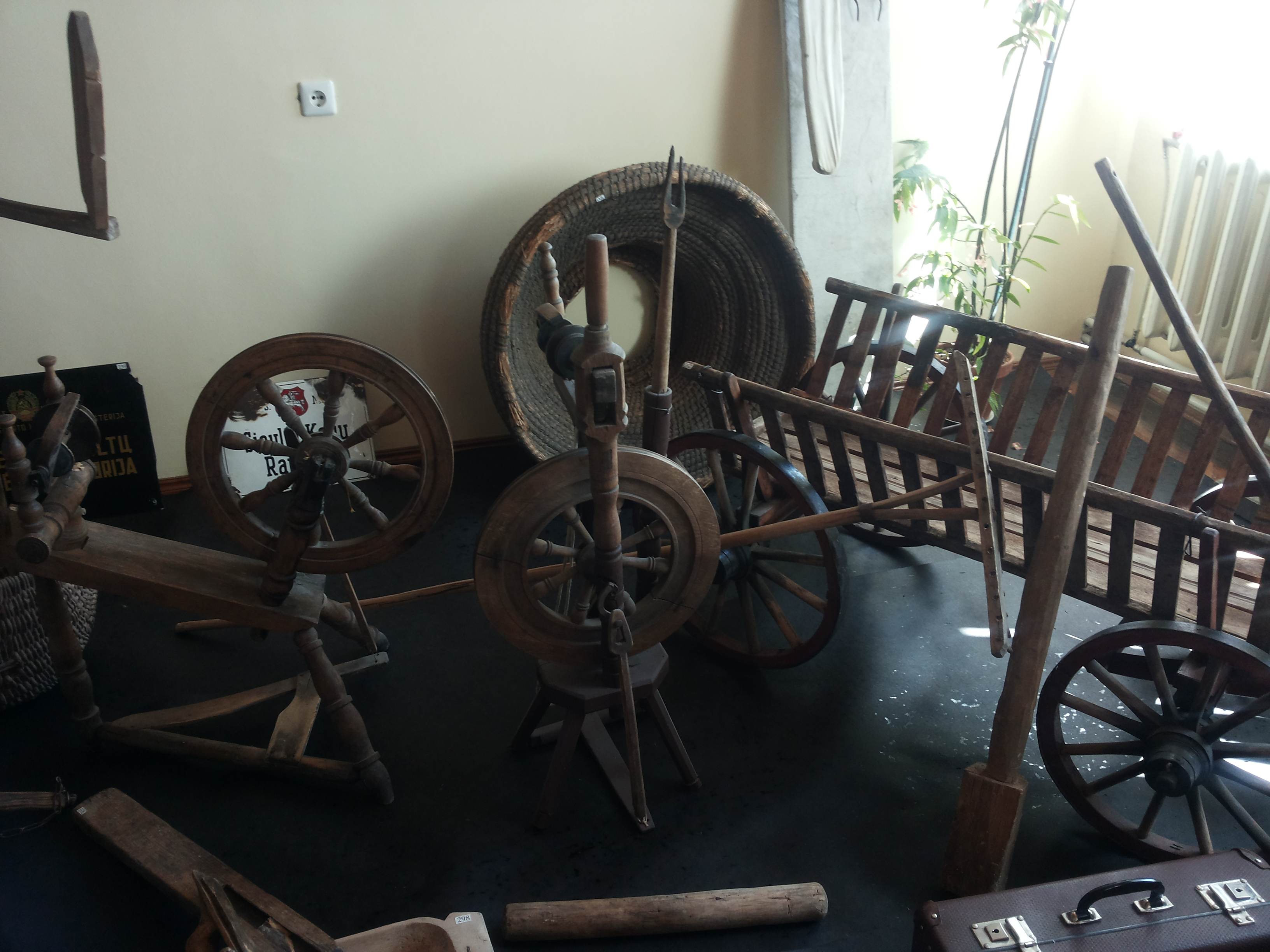 Vievio kelių muziejus. Etnografijos skyrius