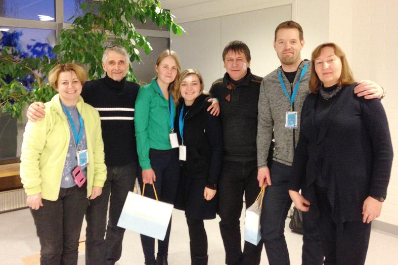 Tarptautinio Erasmus+ projekto  I.M.A.G.I.N.E  dalyvių sąskrydis Suomijoje