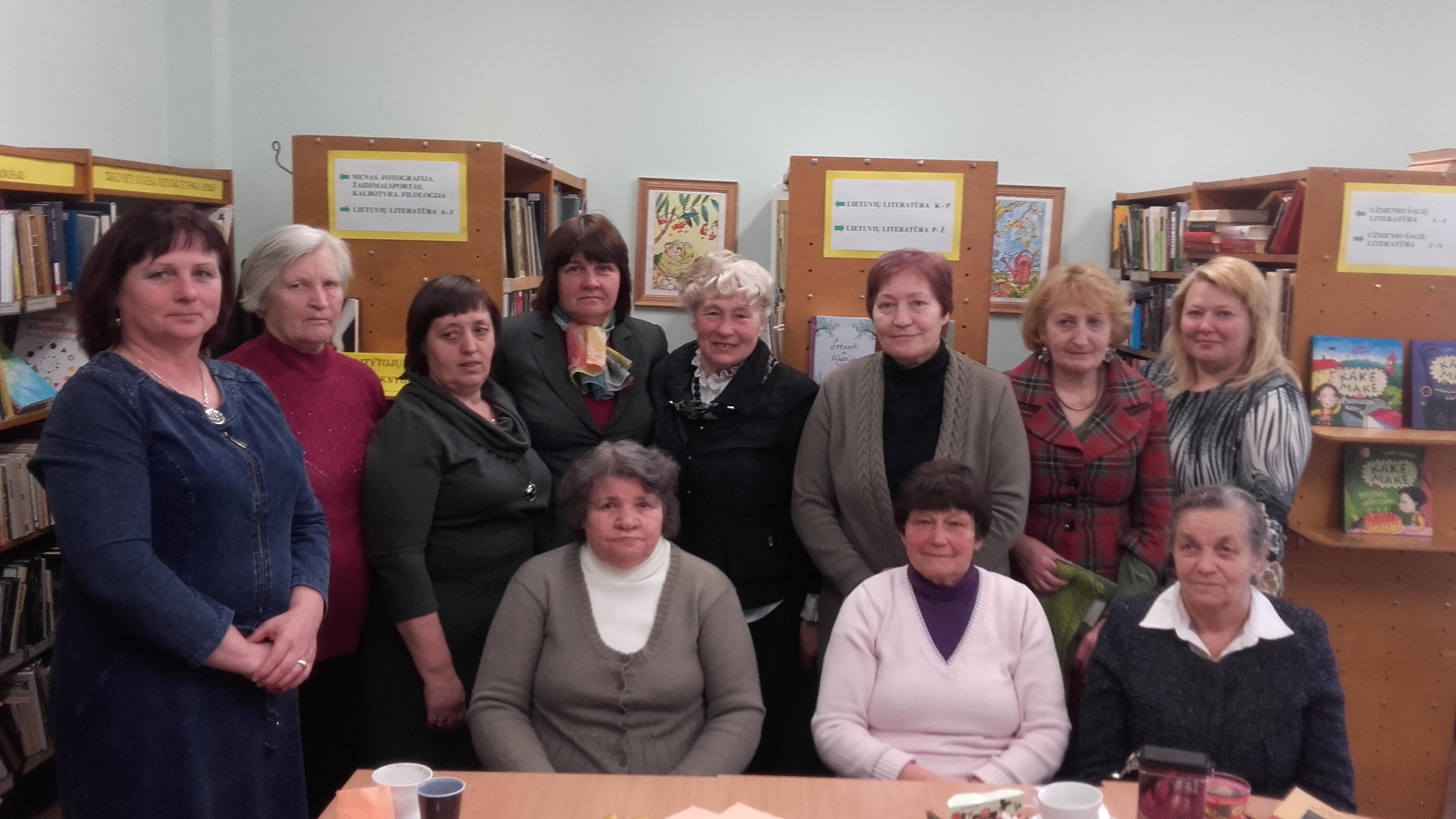 2016-ieji Bibliotekų ir Vietos bendruomenių metai Pastrėvyje
