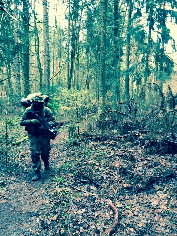 Veikla persikėlė į mišką