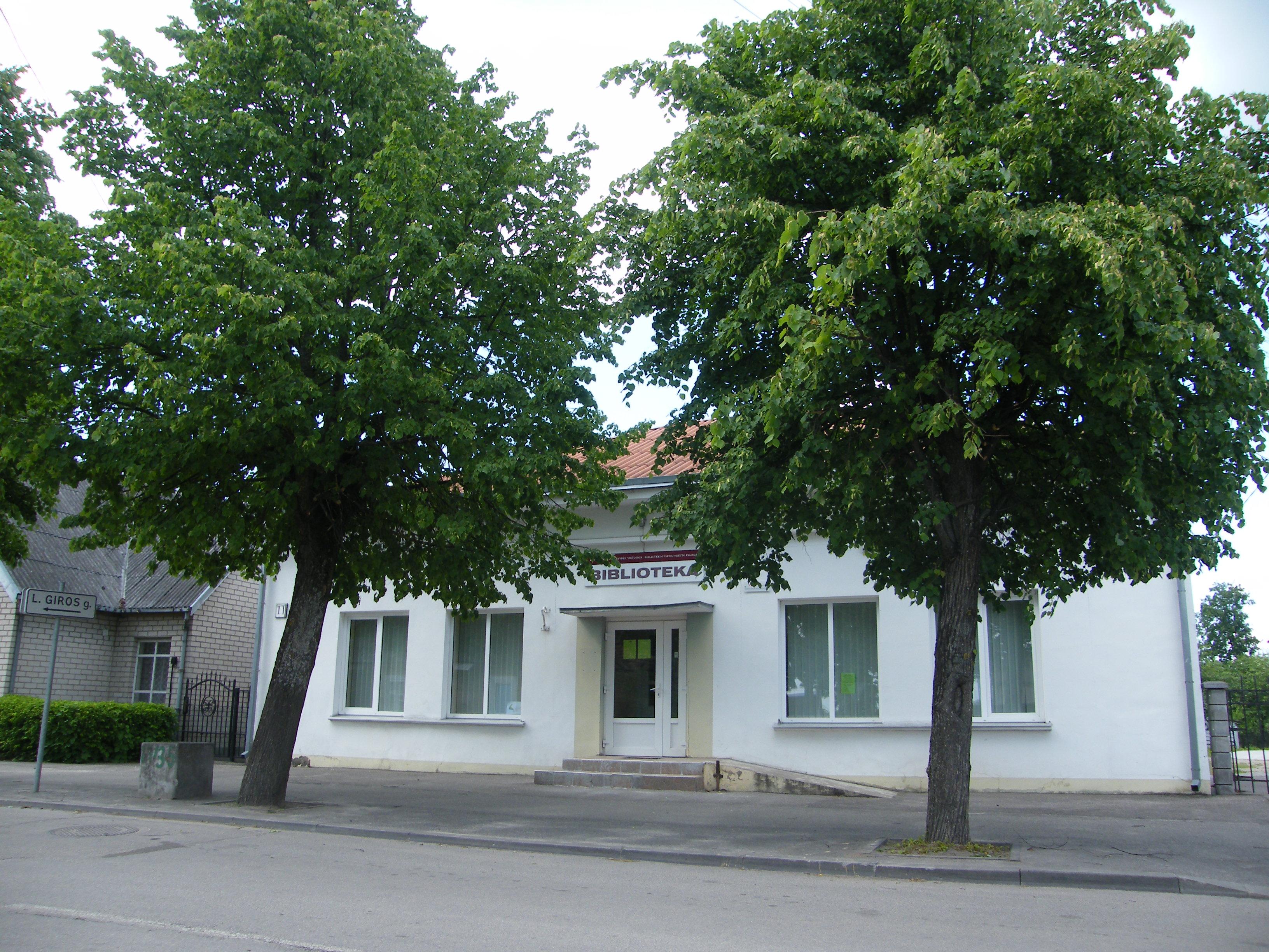 Vievio miesto bibliotekos istorija