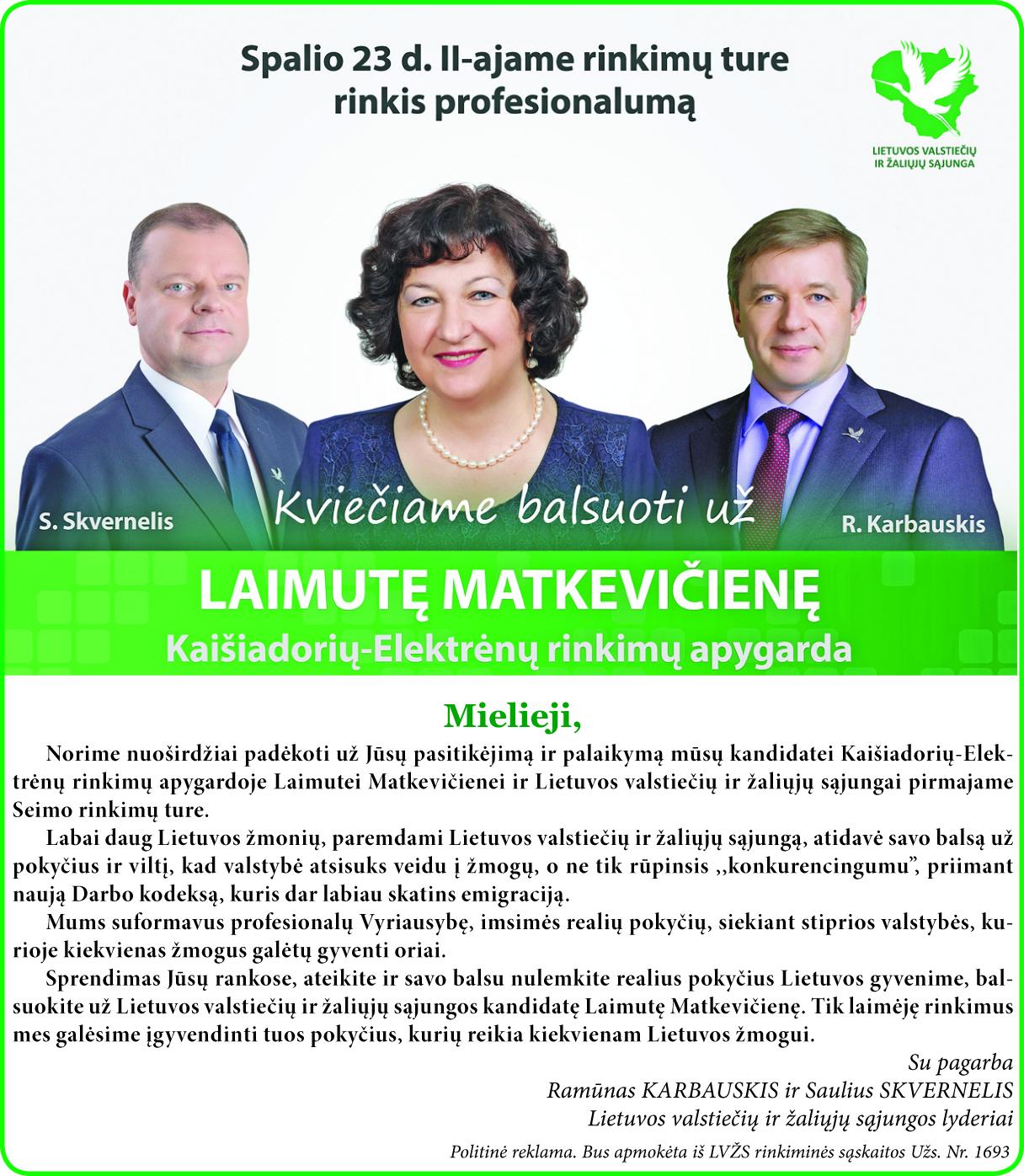 Rinkis profesionalumą