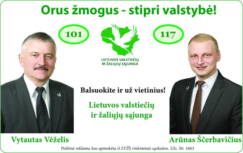 Balsuokite už vietinius!