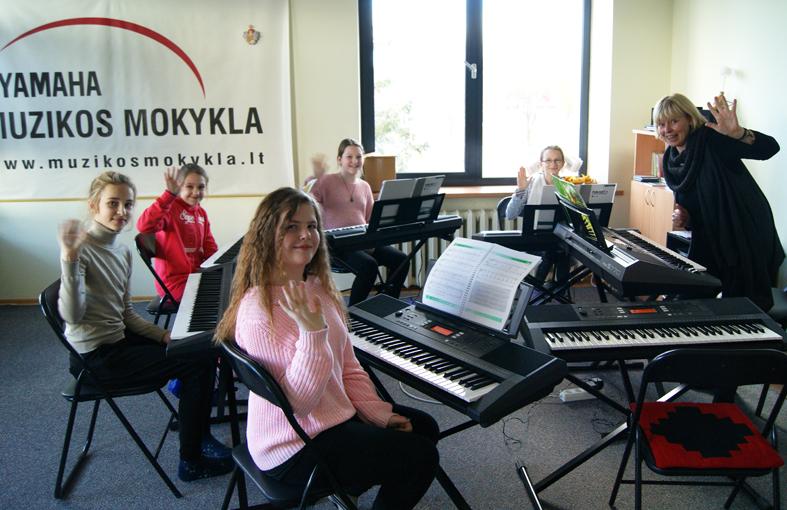 YAMAHA muzikos mokykla – puiki galimybė atsiskleisti augančiai asmenybei