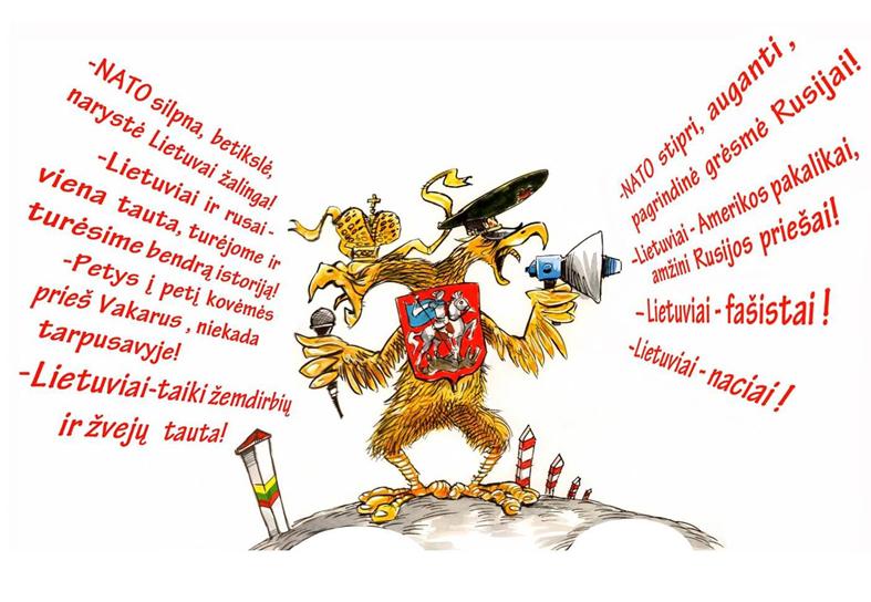 Propaganda ir priešiškos  informacinės operacijos Lietuvoje