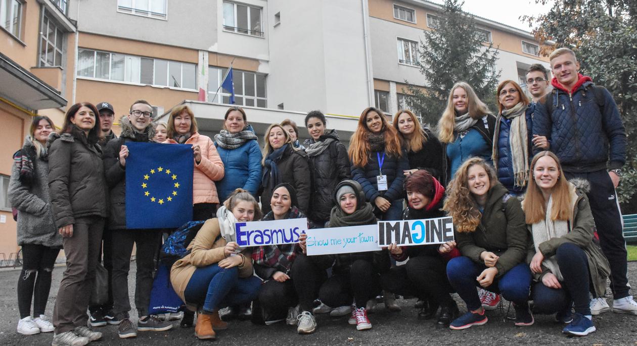 Tarptautinis Erasmus+ projektas IMAGINE –  galimybė pažinti svečias šalis