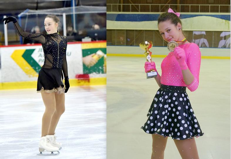 """Dailiojo čiuožimo varžybose """"Jelgava Cup 2017"""" iškovotos 4 prizinės vietos"""
