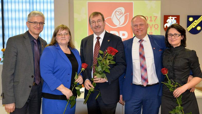 LSDP Elektrėnų skyriaus pirmininku perrinktas Arvydas Vyšniauskas