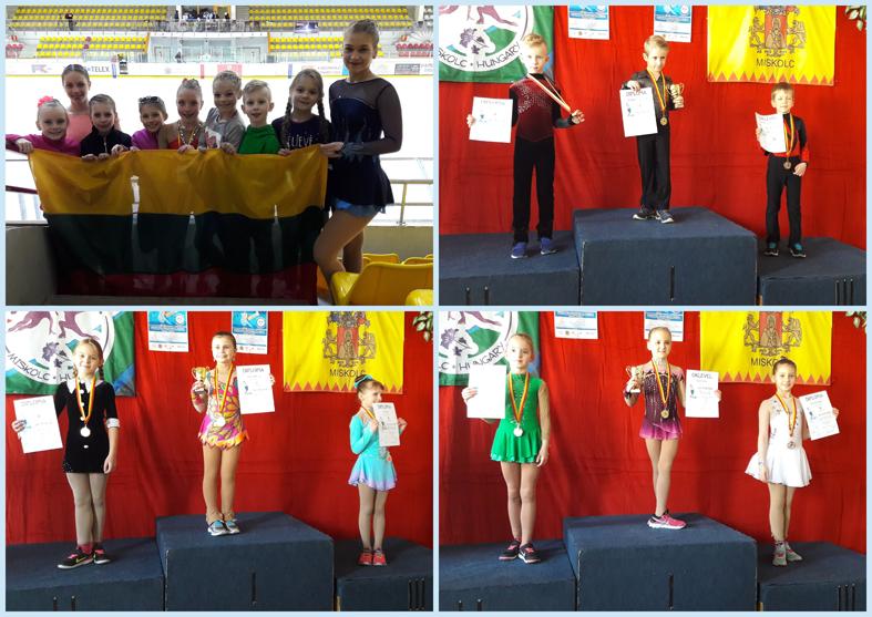 Vengrijoje iškovoti du sidabro medaliai ir vienas bronzos