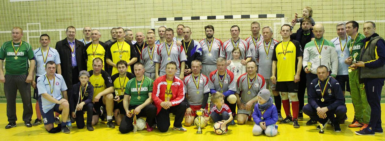 Salės futbolo turnyras