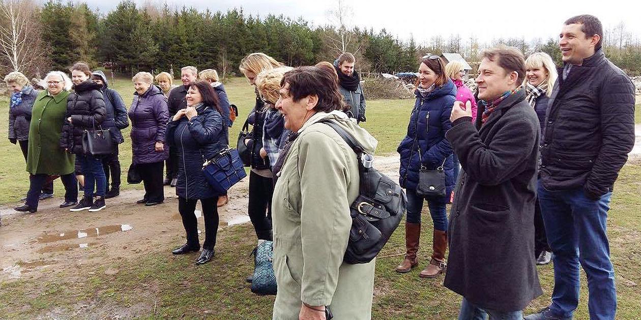 Kultūros darbuotojų išvyka į Lenkiją
