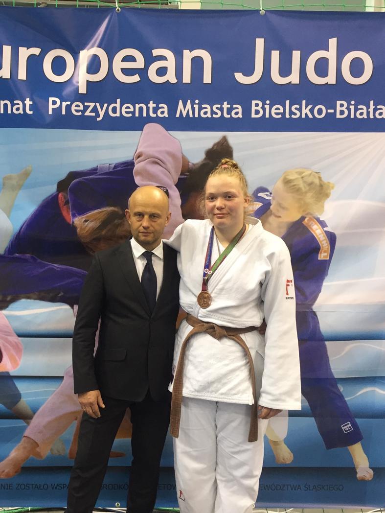 Europos dziudo taurėje bronzos medalis