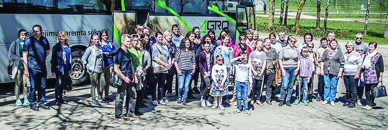 Vievio bendruomenės kelionė į Šiaulių kraštą