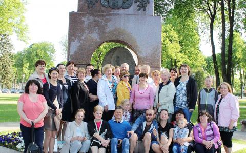 Semeliškių bendruomenės kelionė po Žemaitiją