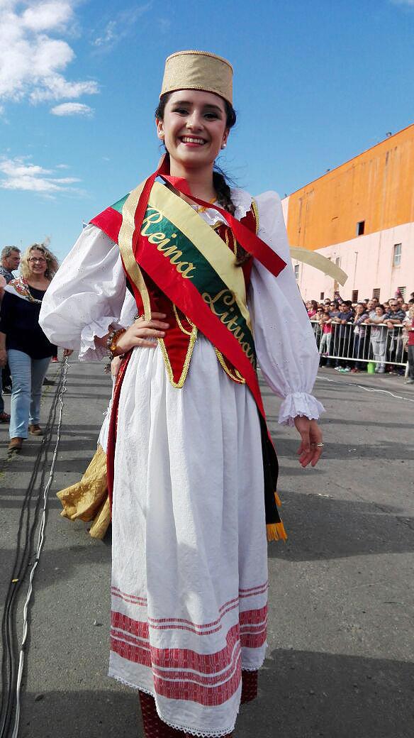 Studentės iš Argentinos palinkėjimas Lietuvai