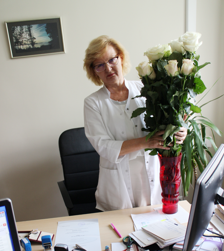 Pacientų padėka neurologei  Irinai Naumčik –  nusipelniusios gydytojos vardas