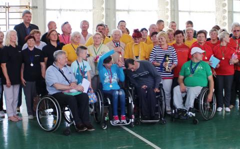 Neįgaliųjų sporto žaidynės Elektrėnuose