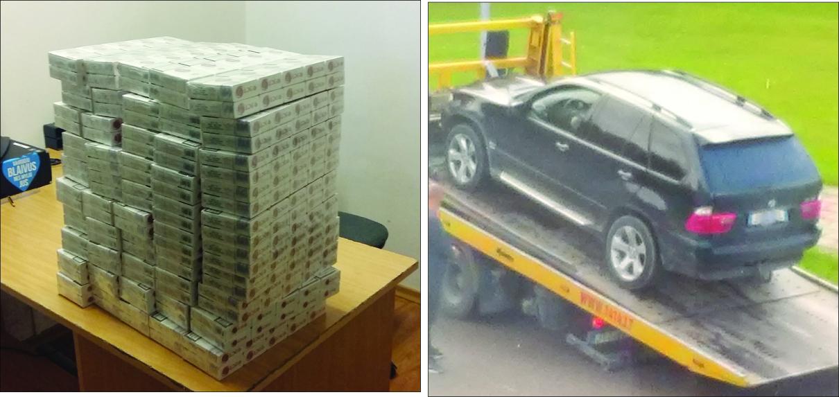 Kontrabandinių cigarečių gabentojų laukia ne tik baudos, gali būti konfiskuotas ir jų automobilis