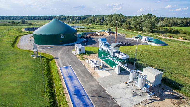 Šilumos kainas atpiginti gali ir biodujos iš sąvartyno