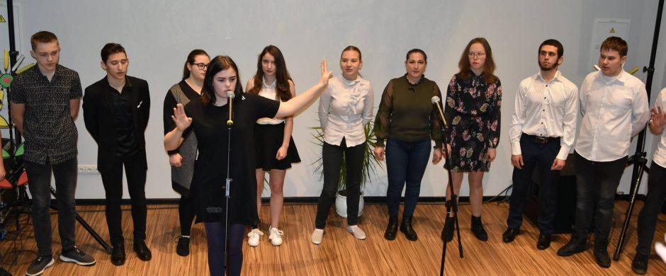 Iškilmingas Lietuvos valstybės atkūrimo dienai skirtas koncertas VšĮ Elektrėnų profesinio mokymo centre