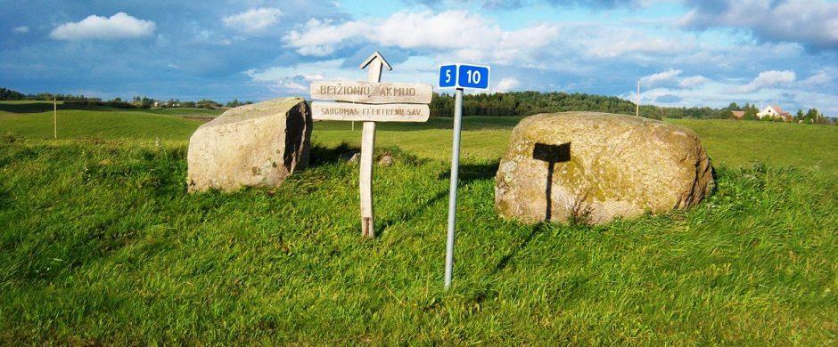 Apie Beižionių seniūnijos vietovardžius