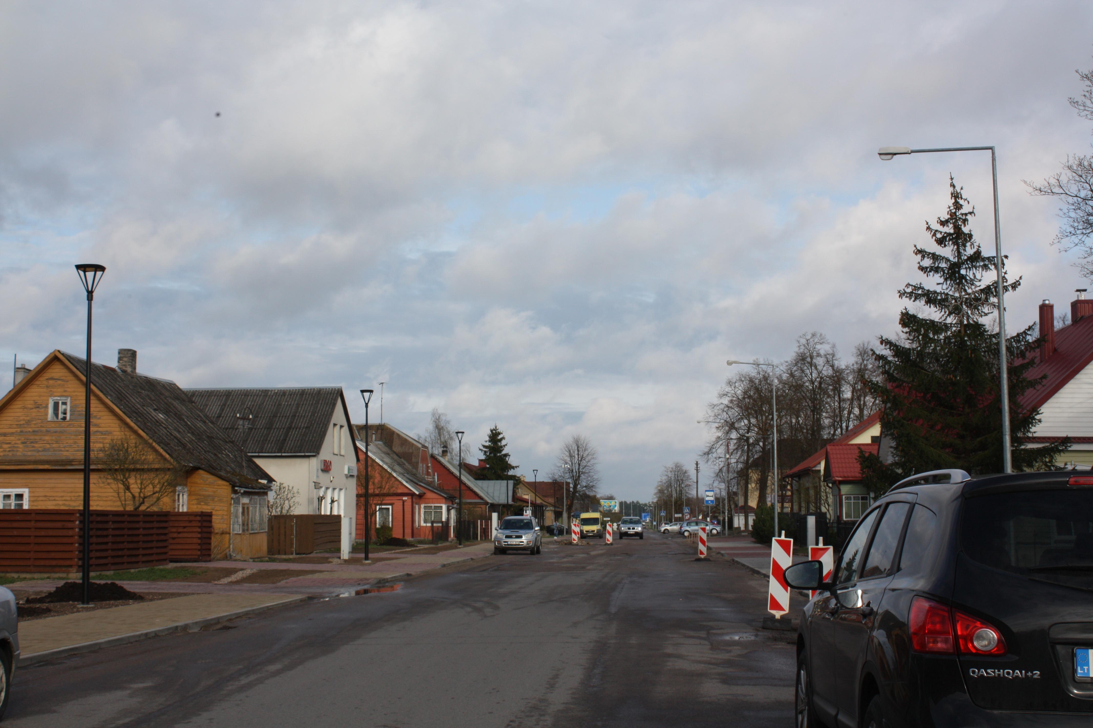 Bėdos dėl gatvių