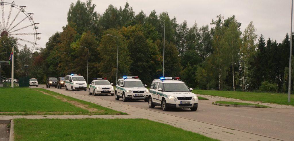 Elektrėnų policija organizuoja susitikimus su gyventojais