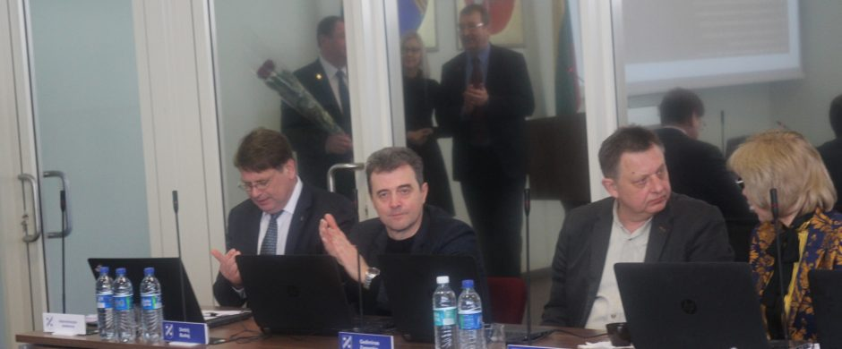 Administracijos direktorius Virgilijus Pruskas:  tame jovale matau gražių perspektyvų